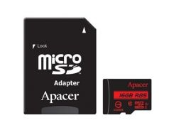 Карта памяти Apacer 16GB microSDHC Class10 UHS-I (AP16GMCSH10U5-R)