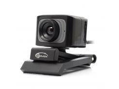 Web камера Gemix F5 Black/Gray, 1.3 Mpx, 640x480, USB 2.0, встроенный микрофон