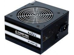 Блок питания Chieftec 500W GPS-500A8, 120 mm, 20+4pin, 1x4pin, SATA х 3, Molex 2x4pin, 1x6+2pin, кабеля немодульные
