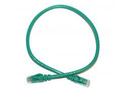 Патч-корд 0.5 м, UTP, Green, ATcom, литой, RJ45, кат.6е, медь, до 1 ГБ/с