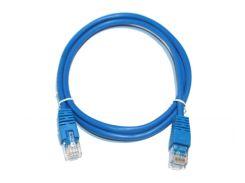 Патч-корд 1 м, UTP, Blue, Cablexpert, литой, RJ45, кат.5е (PP12-1M/B)