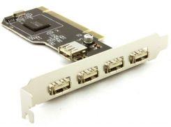 Контроллер PCI - USB 2.0 (4 + 1 Порт) NEC
