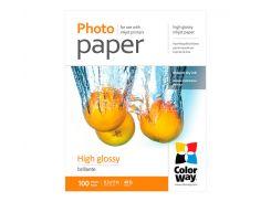 Фотобумага ColorWay, глянцевая, Letter (LT), 180 г/м2, 100 л (PG180100LT)