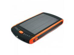 Универсальная мобильная батарея 23000 mAh, Extradigital MP-S23000, Black, 1xUSB 5V/2.1A, солнечная панель, 10 переходников, LED индикатор (PB00ED0012)
