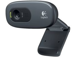 Web камера Logitech HD C270 (960-001063) Black, 3 Mpx, 1280x720, USB 2.0, встроенный микрофон