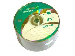 Диск CD-R 50 Videx Mamba, 700Mb, 52x, Bulk Box