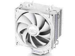 Вентилятор CPU Deepcool GAMMAXX 400 White, 121x75.5x144мм 900-1600 об/мин LGA2011-v3/2011/1366/1150/51/55/56/775/FM1/2/AM2/2+/AM3/3+/AM4/K8