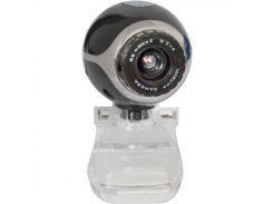Web камера Defender C-090 Black/Gray, 0.3 Mpx, 640x480, USB 2.0, встроенный микрофон