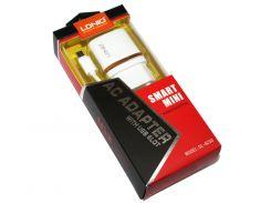 Сетевое зарядное устройство LDNIO, White, 1xUSB, 1A, кабель USB  microUSB (DL-AC50)
