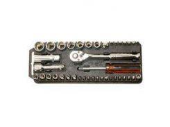 Набор торцевых головок и бит Pro'sKit 8PK-227  с трещоткой (40 шт.)