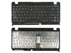 Клавиатура для ноутбука ASUS (Eee PC 1215, 1225), rus, black,  с верхней крышкой