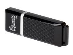 USB Flash Drive 4Gb Smartbuy Quartz series Black, SB4GBQZ-K