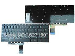 Клавиатура для ноутбука LENOVO (IdeaPad V310-14 series) rus, black, без фрейма