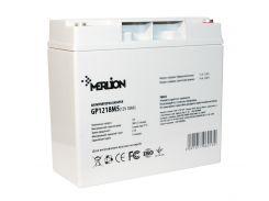 Батарея для ИБП 12В 18Ач Merlion AGM GP1218M5 12 V 18 Ah, 180 x 78 x 165 (168), 4,6 кг Q4
