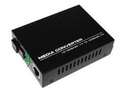 Медиаконвертор Merlion B (IC+113), 1550 WDM, одноволоконный, Full/Half duplex, SC 25 км