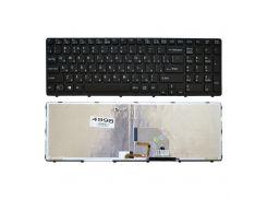 Клавиатура Sony SVE15, SVE17 черная, Подсветка, Оригинал