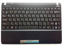 Клавиатура для ноутбука ASUS (EeePC: 1025C, 1025CE, keyboard+передняя панель) rus, black