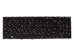 Клавиатура для ноутбука ACER (AS: V5-552, V5-573 series) rus, black, без фрейма, подсветка клавиш