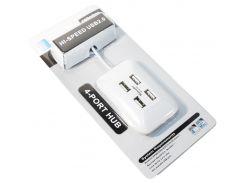 Концентратор USB 2.0 AtCom TD004 4 ports
