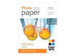 Фотобумага ColorWay, глянцевая, Letter (LT), 200 г/м2, 20 л (PG200020LT)