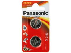 Батарейка PANASONIC CR 2032 Lithium * 1 (CR-2032EL/2B)