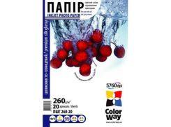 Бумага ColorWay 10x15 (PSI2600204R)
