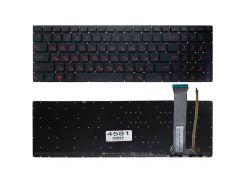 Клавиатура Asus ROG GL752VW GL752VW GL552 GL552JX GL552VW GL552VX, PWR, черная, подсветка, Оригинал
