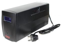 ИБП EAST EA-800VA LCD Shucko, USB, 800ВА евророзетки, Line-Interactive, 3 ступ AVR, диап 155-275В