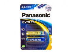 Батарейка AA (LR6), щелочная, Panasonic Evolta, 2 шт, 1.5V, Blister (LR6EGE/2BP)