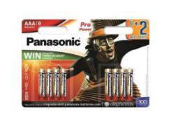 Батарейка PANASONIC AAA LR03 Pro Power Cirque du Soleil * 8 (LR03XEG/8B2FCDS)