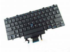 Клавиатура для ноутбука DELL (Latitude: E5450, E7450), rus, black, без фрейма, с подсветкой, с джойстиком
