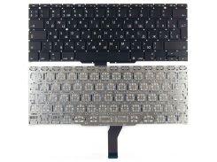 Клавиатура для ноутбука APPLE (MacBook Air: A1370, A1465 (2011-2015)) rus, black, BIG Enter