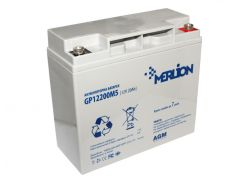 Батарея для ИБП 12В 20Ач Merlion GP1220M5, 12 V 20 Ah, ШхДхВ 65х151х101, White Q10