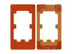 Фиксатор дисплейного модуля для мобильных телефонов Apple iPhone 5, iPhone 5C, iPhone 5S, iPhone SE, для приклеивания стекла