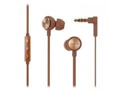 Наушники Edifier P293 Plus Brown, Mini jack (3.5 мм), вкладыши, кабель 0.9 м