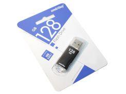 USB 3.0 Flash Drive 128Gb Smartbuy V-Cut Black, SB128GBVC-K3