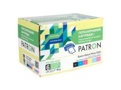 Комплект перезаправляемых картриджей PATRON Epson R200/ 220/ 300/ 320/ 340, RX500/ 600 (PN-048-002/PN-048-N002)