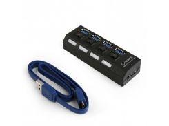 Концентратор USB 3.0 Gembird UHB-U3P4-22 USB 3.0, 4 порта