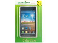 Чехол для моб. телефона Mobiking HTC One 801e (M7) White/Silicon (22743)
