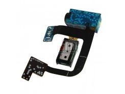 Коннектор наушников Samsung S5660,  со шлейфом,  с динамиком
