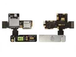 Коннектор Sim и карты памяти для HTC T320e One V на шлейфе