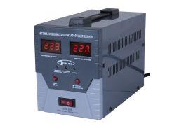 Стабилизатор Gemix GDX-500 500VA, 350W, входное напряжение 140-260V, 1 розетка (Schuko), 2.7 кг, LCD дисплей