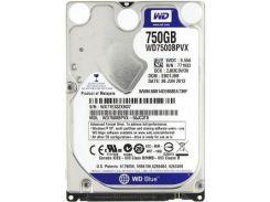 """Жесткий диск для ноутбука 2.5"""" 750GB Western Digital (#WD7500BPVX-FR#)"""