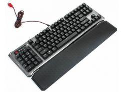 Клавиатура A4tech Bloody B845R Bloody (Gun Black), USB Golden игровая, мультимедийная, механическая, настраиваемая LED-подсветка, Full Light Strike