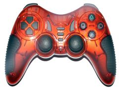"Геймпад Havit HV-G85 Red, USB/PS2/PS3, 12 кнопок, двойная вибрация, режим ""Турбо"""