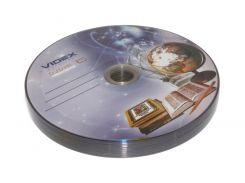 """Диск DVD+R 10 Videx """"Тетрадка"""", 4.7Gb, 16x, Bulk Box"""