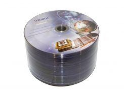 """Диск DVD+R 50 Videx """"Тетрадка"""", 4.7Gb, 16x, Bulk Box"""