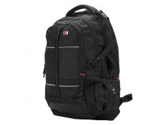 "Рюкзак для ноутбука 16"" Continent BP-302BK, Black, нейлон/полиэстер, 38,8 x 26 x 3,7 см"