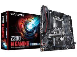 Мат.плата 1151 (Z390) Gigabyte Z390 M GAMING, Z390, 4xDDR4, CrossFire, Int.Video(CPU), 6xSATA3, 2xM.2, 2xPCI-E 16x 3.0, 2xPCI-E 1x 3.0, 1xM.2 (Key E