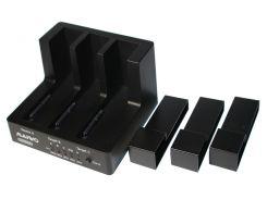 """Док-станция 2,5""""/3,5"""" Maiwo K3093 для 3*HDD 2,5""""/3,5"""" SATA/SSD через USB3.0 безвинтов. крепл."""